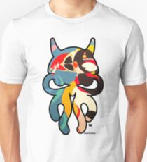 """Skullyfish featuring the original """"Always Puffin'"""" painting by TheArtistGrimm Unisex T-Shirt"""
