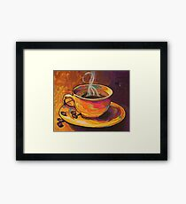 Spectra Wake-Up by Asra Rae Framed Print