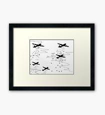 WWII Bombers #2 Framed Print