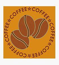 Coffee Coffee Coffee Beans Photographic Print