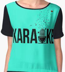 karaoke Chiffon Top
