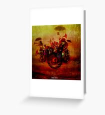 The delirious orchestra Greeting Card