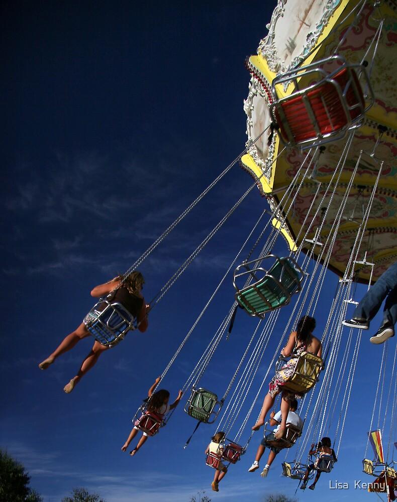 blue sky fun  by Lisa  Kenny
