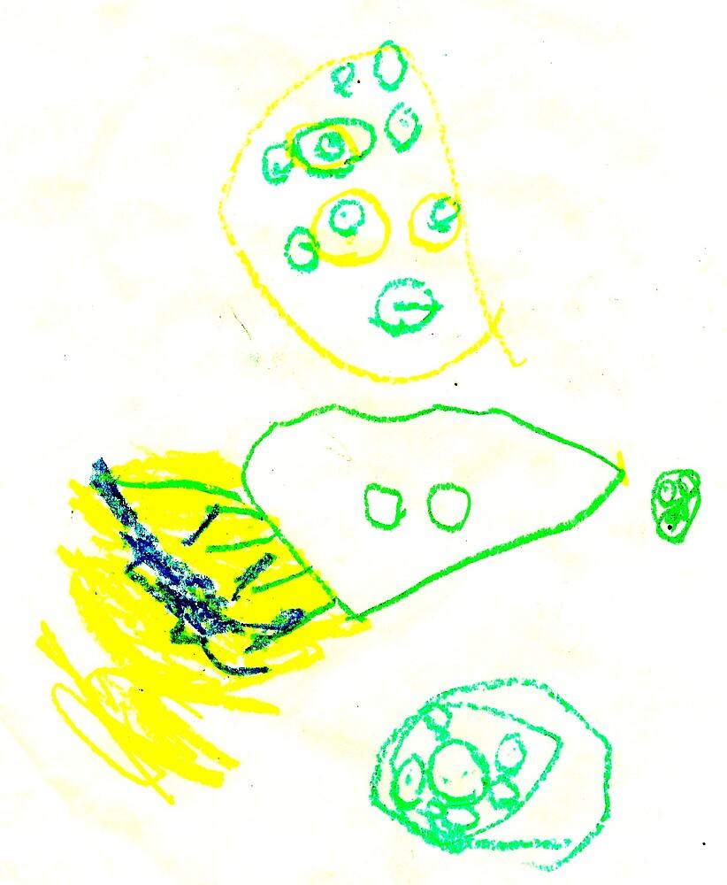 Spaceship 2 by Kevin Evans