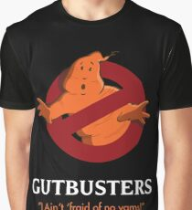 Ghostbusters (Gutbusters) Movie Poster Graphic T-Shirt
