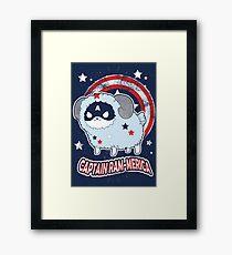Captain Ramerica Framed Print