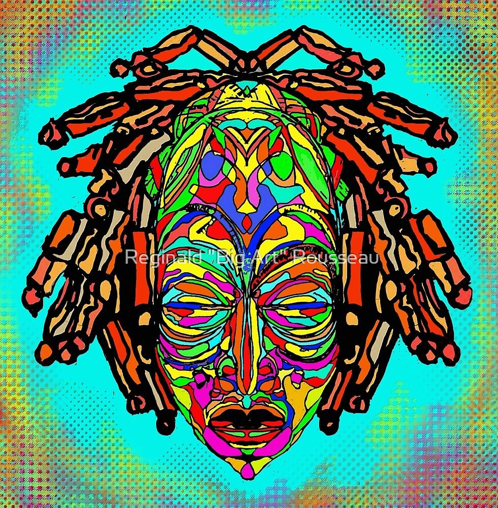 """Unmasked 7 by Reginald """"Big Art"""" Rousseau"""