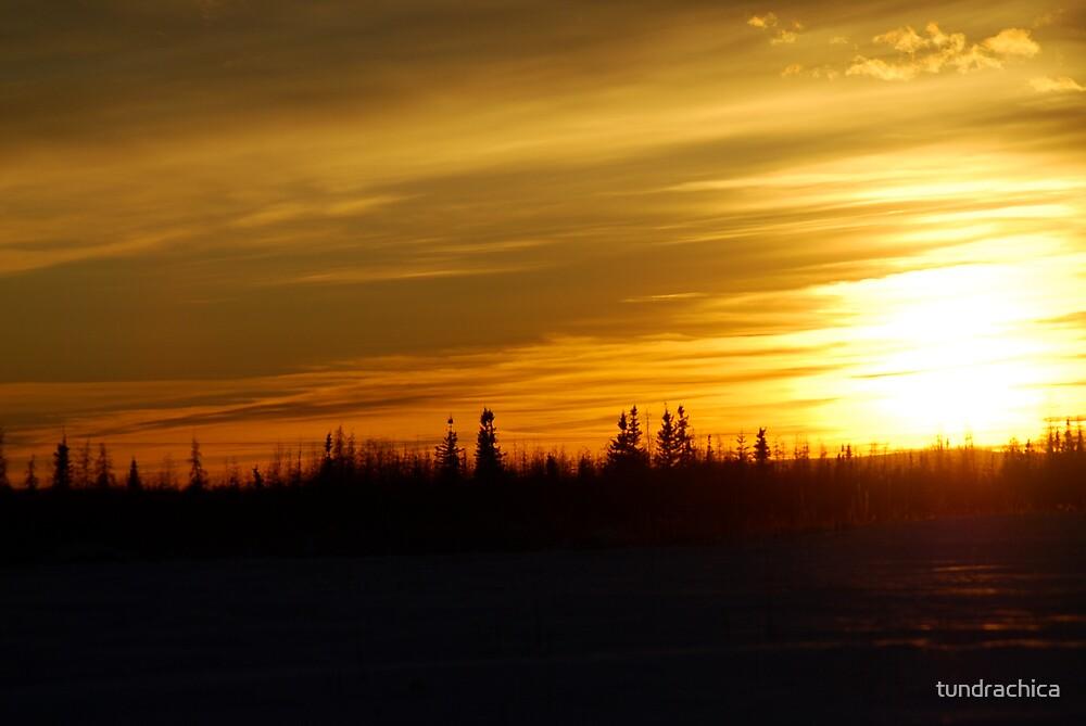 Daylight Savings Sunset by tundrachica