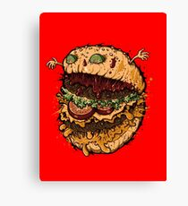 Monster Burger Canvas Print