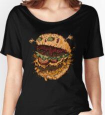 Monster Burger Women's Relaxed Fit T-Shirt