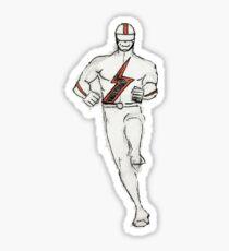 Bolt (S Hero)Orange, hh5art Sticker