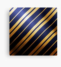 Gold and Blue Canvas Print