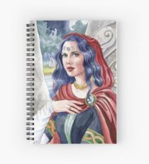 Child of the Moon Goddess Spiral Notebook