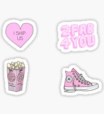 Pink Aesthetic Sticker Pack  Sticker