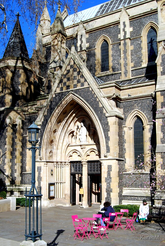 Southwark Cathedral Resting Place by KarenM
