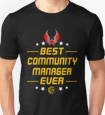 COMMUNITY MANAGER - SHIRT AND HOODIES 2017 Unisex T-Shirt