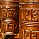 Prayer Wheels by Barbara  Brown