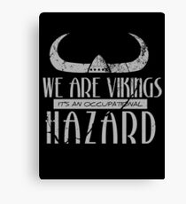 We are Vikings - Stoick Canvas Print