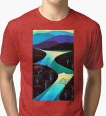 ocean rivers Tri-blend T-Shirt