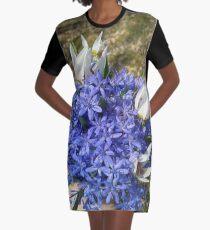 Flowers gift idea Graphic T-Shirt Dress