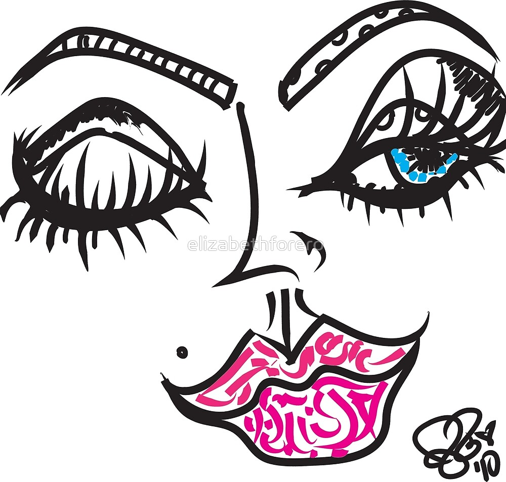 Eye Sea You Illustration  by elizabethforero