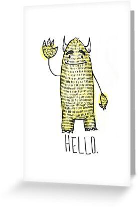 Hello.  by Chloe Fennell
