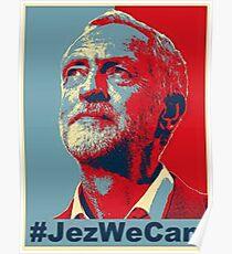 Jeremy Corbyn JezWeCan Poster
