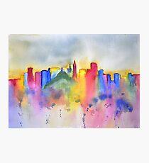 Colourful San Francisco Skyline Photographic Print