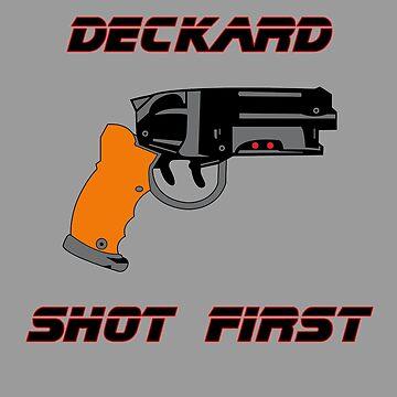 Deckard Shot First! by hellraiserdsgns