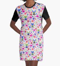 Gnom-Garten T-Shirt Kleid