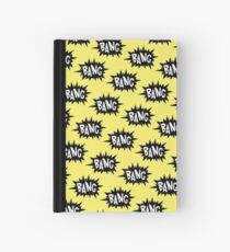 Yellow Bang Pattern Hardcover Journal