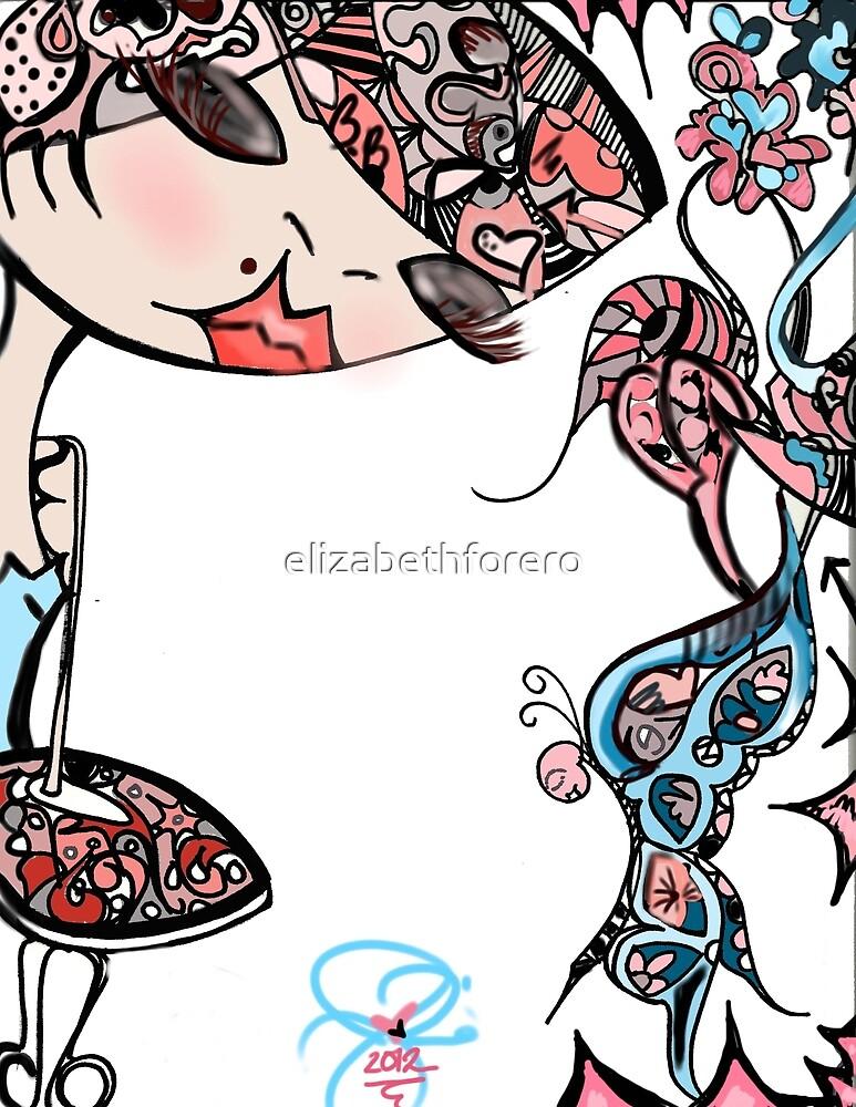 Doll Illustration by elizabethforero