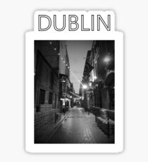 Dublin Dame Lane Sticker