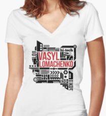 Hi-Tech Women's Fitted V-Neck T-Shirt