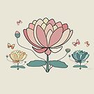 Rose Lotus by © Karin Taylor