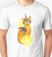 Cinder Cornish Rex Kitten T-Shirt
