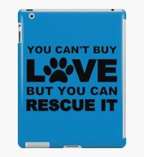 Rescue animals iPad Case/Skin