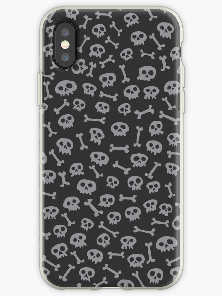 The Ultimate Skull Pattern - grey by Dragan Radujko