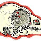 Cardinal Skull by topquark