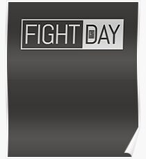 One Weak - Friday Fight Day Poster