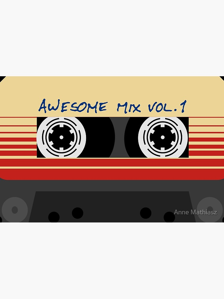 Awesome Mixtape Vol 1, Tape, Music, Retro by boom-art