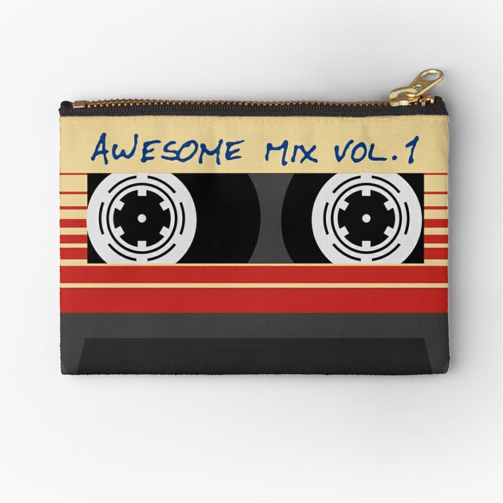 Awesome Mixtape Vol 1, Tape, Music, Retro Zipper Pouch