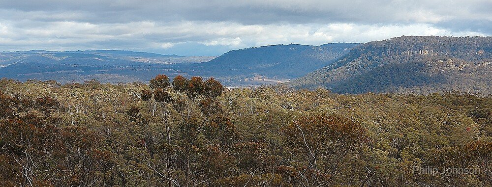 Bells Line Of Road, Blue Mountains, NSW Australia by Philip Johnson