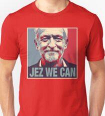 Jeremy Corbyn Jezwecan Unisex T-Shirt