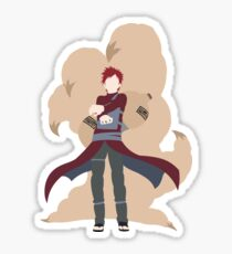 Gaara Minimalist Sticker