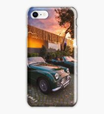 Cafe In. Triumph iPhone Case/Skin