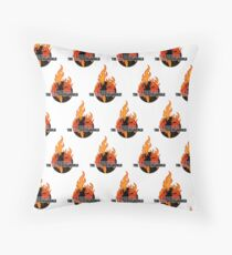 I Survived The End of the world (Pattern) Throw Pillow