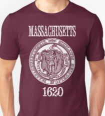 Massachusetts State Seal Unisex T-Shirt