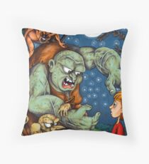 He Sure is an Ugly One Throw Pillow