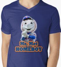 Mr. Met is My Homeboy - Middle Finger T-Shirt